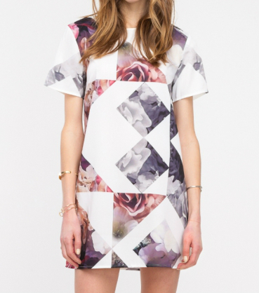 geoprint tee dress 134.77
