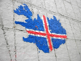 Street arts are everywhere in the capital city Reykjavik.